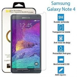 Vitre en verre trempé -Samsung Galaxy Note 4