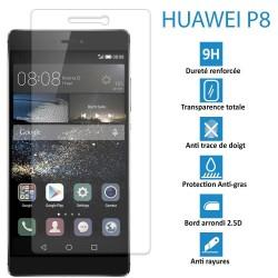 HUAWEI P8 - Véritable vitre de protection écran en Verre trempé ultra résistante - Protection écran