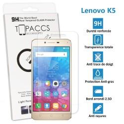 LENOVO K5 - Véritable vitre de protection écran en Verre trempé ultra résistante - Protection écran