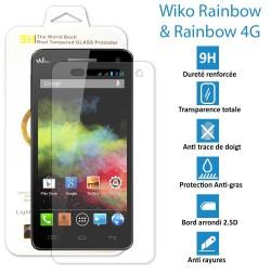 WIKO Rainbow & Rainbow 4G- Vitre en verre trempé ultra résistante