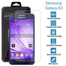 Samsung Galaxy A3 (NON 2016) - Vitre de protection écran en Verre trempé ultra résistante