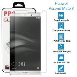 TOPACCS - Huawei Ascend Mate 8 - Véritable vitre en verre trempé ultra résistante - Protection écran