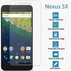 Nexus 5X (LG) - Véritable vitre en verre trempé ultra résistante - Protection écran