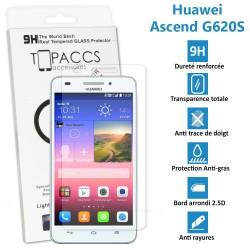 Huawei Ascend G620s - Véritable vitre de protection écran en Verre trempé ultra résistante - Protection écran