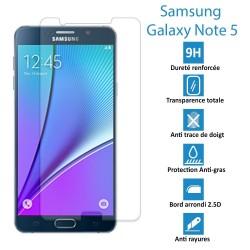 Samsung Galaxy Note 5 - Véritable vitre en verre trempé ultra résistante - Protection écran