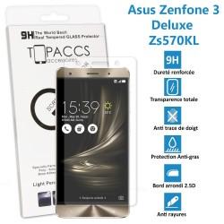 Asus Zenfone 3 Deluxe : ZS570KL - Véritable vitre de protection écran en Verre trempé ultra résistante - Protection écran