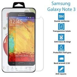 Samsung Galaxy Note 3 - Vitre en verre trempé ultra résistante - Protection écran - AVEC BOITE