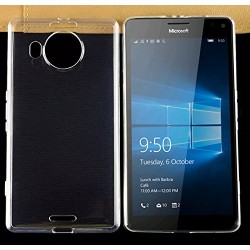 Microsoft Lumia 950 XL - Coque souple en TPU ultra resistante et ultra transparente