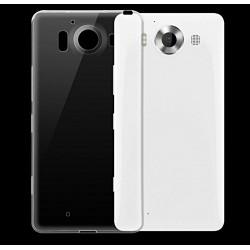 Microsoft Lumia 950 - Coque souple en TPU ultra resistante et ultra transparente - Taux d'absorption des chocs élevé