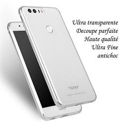 Huawei HONOR 8 - Coque souple en TPU ultra resistante et ultra transparente - Taux d'absorption des chocs élevé - Clear Case