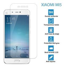 Xiaomi Mi5 - Véritable vitre de protection écran en Verre trempé ultra résistante - Protection écran