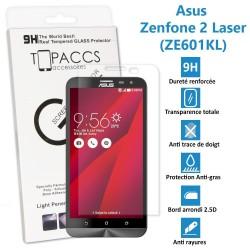 Asus Zenfone 2 Laser : ZE601KL - Véritable vitre de protection écran en Verre trempé ultra résistante - Protection écran