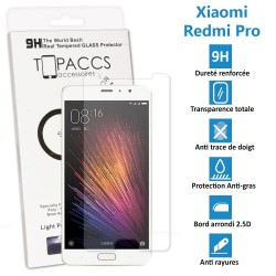 Xiaomi Redmi Pro - Véritable vitre de protection écran en Verre trempé ultra résistante - Protection écran