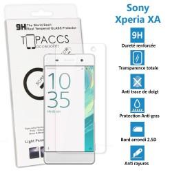Sony Xperia XA - Véritable vitre de protection écran en Verre trempé ultra résistante - Protection écran