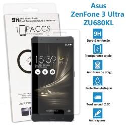 Asus Zenfone 3 Ultra : ZU680KL - Véritable vitre de protection écran en Verre trempé ultra résistante - Protection écran