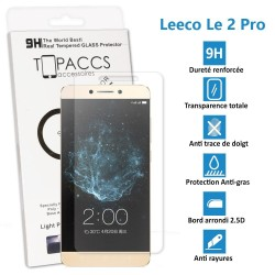 Leeco Le 2 Pro - Véritable vitre de protection écran en Verre trempé ultra résistante - Protection écran