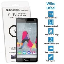 WIKo UFEEL et UFEEL DUAL- Véritable vitre de protection écran en Verre trempé ultra résistante - Protection écran