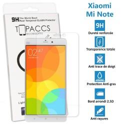 Xiaomi Mi Note - Véritable vitre de protection écran en Verre trempé ultra résistante - Protection écran