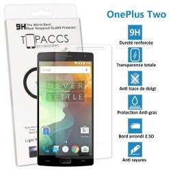 OnePlus Two - Véritable vitre de protection écran en Verre trempé ultra résistante - Protection écran pour OnePlus 2