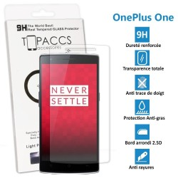 ONEPLUS ONE - Véritable vitre de protection écran en Verre trempé ultra résistante - Protection écran