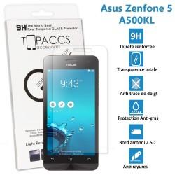 Asus Zenfone 5: A500KL - Véritable vitre de protection écran en Verre trempé ultra résistante - Protection écran