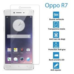 OPPO R7 - Véritable vitre de protection écran en Verre trempé ultra résistante - Protection écran