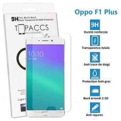 Oppo F1 Plus - Véritable vitre de protection écran en Verre trempé ultra résistante - Protection écran