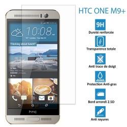 HTC ONE M9 PLUS - Véritable vitre de protection écran en Verre trempé ultra résistante - Protection écran
