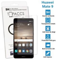 Huawei Mate 9 - Véritable vitre de protection écran en Verre trempé ultra résistante - Protection écran