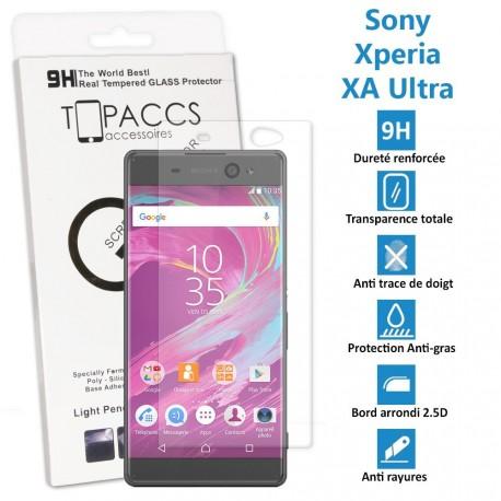Sony Xperia XA ULTRA - Véritable vitre de protection écran en Verre trempé ultra résistante - Protection écran
