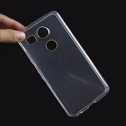 Google Nexus 5X - Coque souple en TPU ultra resistante et ultra transparente