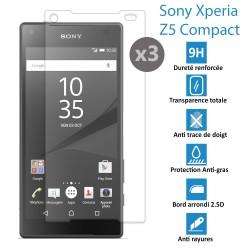 Sony Xperia Z5 Compact - Véritable vitre de protection écran en Verre trempé ultra résistante - Protection écran ...