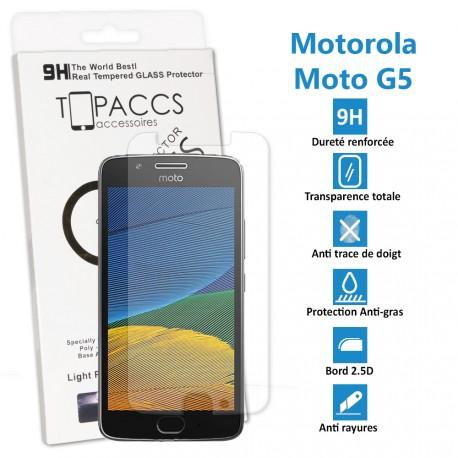 Motorola Moto G4 (4ème Génération) - Véritable vitre de protection écran en Verre trempé ultra résistante - Protection écran