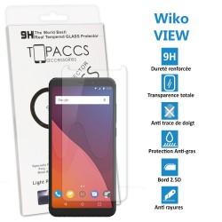 WIKO FEVER 4G - Véritable vitre de protection écran en Verre trempé ultra résistante - Protection écran