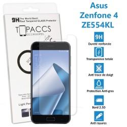 Asus Zenfone selfie : ZD551KL -  vitre de protection écran en Verre trempé ultra résistante - Protection écran
