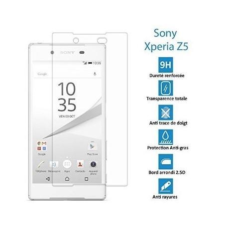 Sony Xperia Z5-Véritable vitre en verre trempé ultra résistante