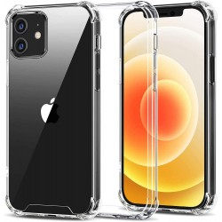 Coque antichoc ClearShield pour iPhone 12 - iPhone 12 Mini - iPhone 11 - PRO Max 6 - 7 - 8 - 6 Plus/XR/XS/11 SE 12 2020