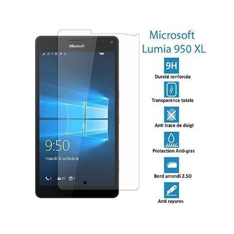 Microsoft Lumia 950XL- Véritable vitre en verre trempé ultra résistante